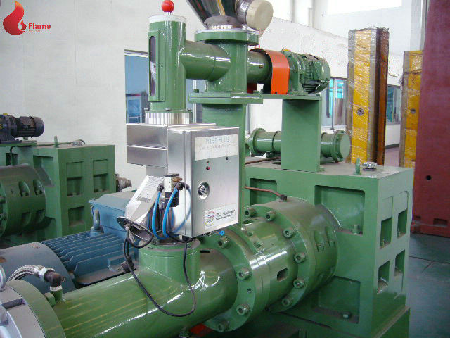 PVC film 150 Planetary Roller Extruder 0.015mm Plastic Extruder Machine For Industry
