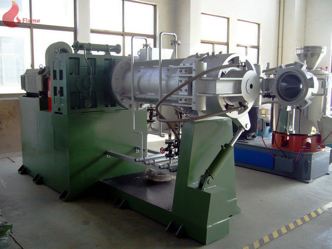 Rubber plastic extruding machine For Business , Rubber Strainer Machine Smooth Running